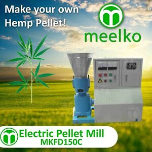 Pellet Mill 5 5kw 7 5hp Electric Engine Pellet Press Special hemp