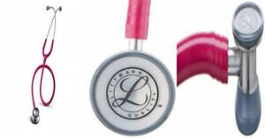 3m Littmann 2122 Classic Ii Pediatric Stethoscope Raspberry 28 Inch