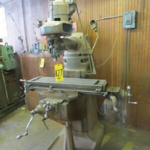 Bridgeport M Head Milling Machine