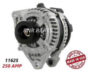 250 Amp 11625 Alternator Ford Mustang 5 0 High Output Performance Hd Usa New