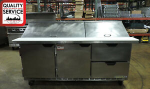 Beverage Air Sped72 30m Commercial Refrigerated Food Prep Table