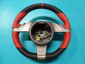 Porsche 997 987 Boxster Cayman Custom Padded Steering Wheel New Leather