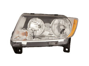 Jeep Grand Cherokee 2011 2012 Halogen Head Light Lamp Ch2502224 55079379ad Lh