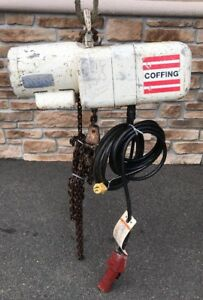 Coffing 1 2 Ton Electric Chain Hoist Yale Harrington Cm