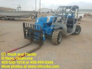 2012 Genie 5519 Mini Reach Lift Telehandler 1457hrs Used