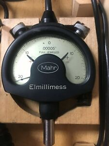 Mahr Millimess Dial Comparator 00005 Full Jeweled