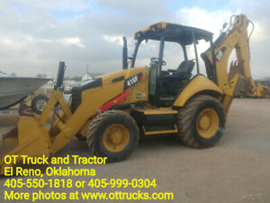 2014 Cat 416f Backhoe Loader 2328hrs 4x4 Stick Controls Used
