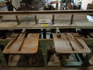 Kenwell Jackson Double Head Notcher sawmill pallet
