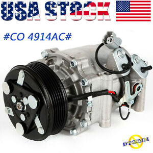 Air Conditioner A C Compressor Fit For Honda Civic 2002 2005 1 7l Co 4914ac Usa