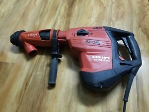 Hilti 120 volt Sds max Te 70 atc avr Combi Hammer Drill With Dust Collector