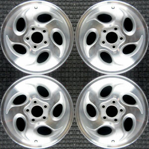 Set 1995 2001 Ford Mercury Explorer Mountaineer Ranger Oem 15 Wheels Rims 3186