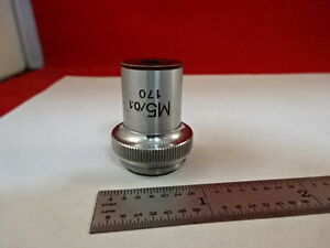 Microscope Part Tiyoda Japan M5 Objective Optics As Is am 46
