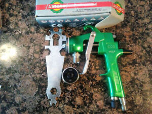 Asturo Aom Eco Pressure Paint Spray Gun Binks Devilbiss Sharpe