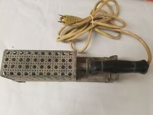 Vintage Hexacon Electrics Heavy Duty Soldering Iron With Metal Holder