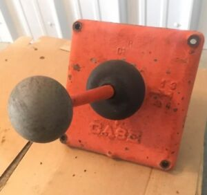 Vintage Ji Case 210 B Tractor Shift Lever And Forks No Reverse 1958