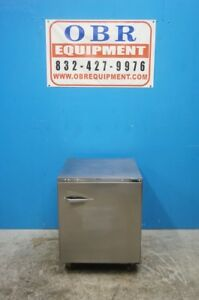 Traulsen Ult27 r 27 One Section Undercounter Reach in Freezer Hinged Right