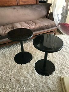Pace Collection Steel End Tables