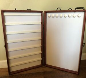 Portable showcases To Go Brand Folding Jewelry Vendor Display Cases
