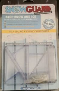 12 Packages Of 4 snow Guards perfect Seal Gasket The mounting Hardware Included