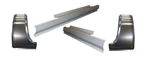 1994 02 Dodge Ram Standard Cab Rocker Panels And Cab Corners 4 Piece Kit