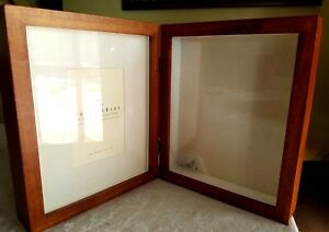 Pottery Barn Hinged Shadow Box Picture Frame