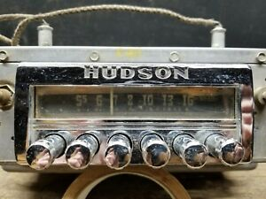 1951 52 Hudson Radio Wasp Hornet Pacemaker Super Six Commadore Oem Untested 135