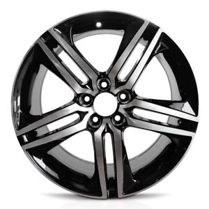 Set Of 4 Wheels 19x8 Inch Aluminum Rim Fits 2016 2017 Honda Accord 5 Lug