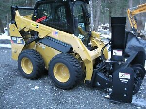 2016 Caterpillar 242d Skid Steer Enclosed Cab With Attachments