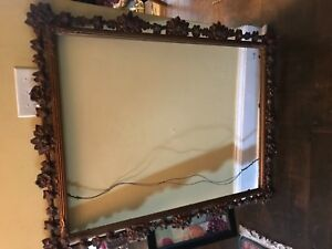 19th C Large 40 X 30 Gold Gilt Antique Frame Victorian Eastlake Aestheti 1890 C