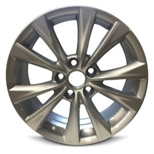 Set Of 4 Wheels 17x7 Inch New Alloy Rim Fits 2015 2017 Toyota Camry