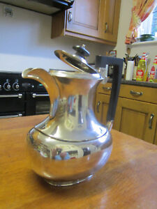 Lovely Old Antique Victorian Silver Plate No 8336 Tea Or Coffee Pot English 1890