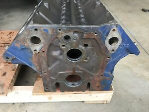 Ford Fe 360 390 Vintage Engine Block C6me A