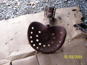 International Farmall H m Tractor Seat Assm Not Original
