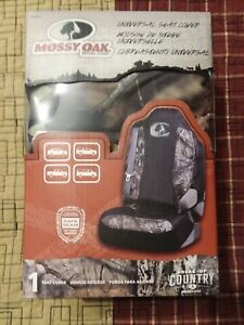 Lot Of 2 Mossy Oak Break Up Country Camo Car Truck Seat Covers Blowout Price