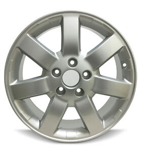 Set Of 4 New Wheels 17x6 5 Inch Aluminum Rim Fits 2005 2011 Honda Cr v 5 Lug