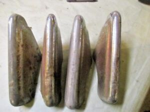 1950 Ford Car Bumper Guards Teeth Ratrod