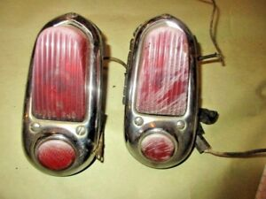 1949 1950 Chevrolet Deluxe Tail Lights Wall Hanger Man Cave Rat Rod