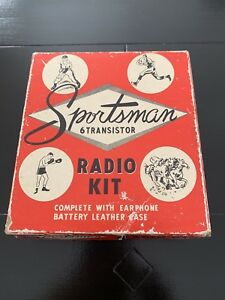 Vintage Gm Transister Radio Automobilia Accessories