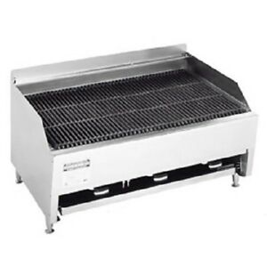 Rankin delux 3223 c Commercial Gas Char Rock Broiler