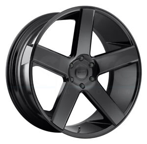 1 New 30 Dub Baller S216 Wheel 30x10 5x115 12 Gloss Black Rim