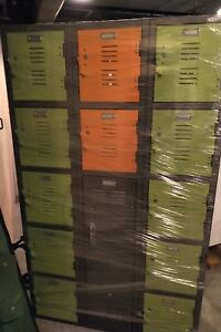 Colorful Locker Unit Barely Used Great Condition 5x3x1
