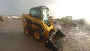 2014 Caterpillar 236d Skid Steer Loader 642hrs 74hp Hyd Quick Attach Used