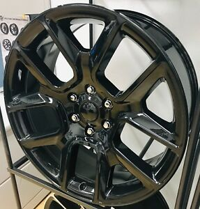22 2019 Ram 1500 Tire Wheel Package Big Horn Rims Gloss Black Fits 6 Lug 2019