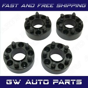 4 Black 2 Hub Centric Wheel Spacer 5x120 Cb 66 9mm 14x15 Fit Camaro Cts