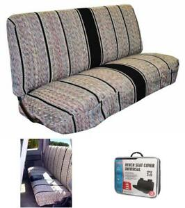 Universal Bench Seat Cover Fits Ford Chevrolet Dodge Full Size Pickup Trucks