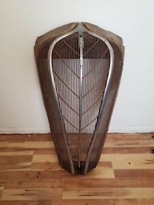 Vintage Hudson Terraplane Grille Grill Rat Rod ask For Accurate Freight Cost