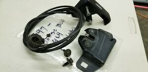 1994 2001 Dodge Ram Truck Hood Latch Release Cable W Handle 1500 2500 3500 Oem