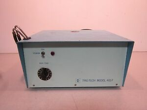 Trio tech 481 f Bubble Leak Detector Pressure Chamber Filtration System Test Box