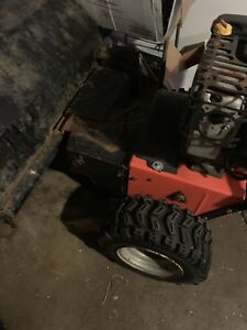 Ariens Pb36 Walk Behind Sweeper Self Propelled Power Brush Broom Gas Engine