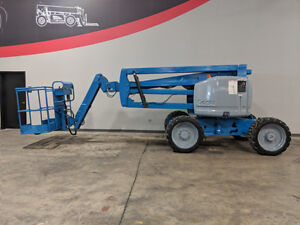 2005 Genie Z45 25 Pneumatic Articulating Boom Lift Dual Fuel Aerial Lift 4x4